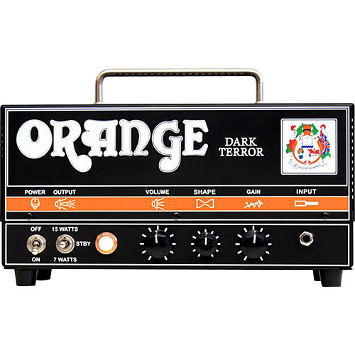 Orange Amplifiers DA15H Dark Terror 15 15W Tube Guitar Amp Head-thumbnail