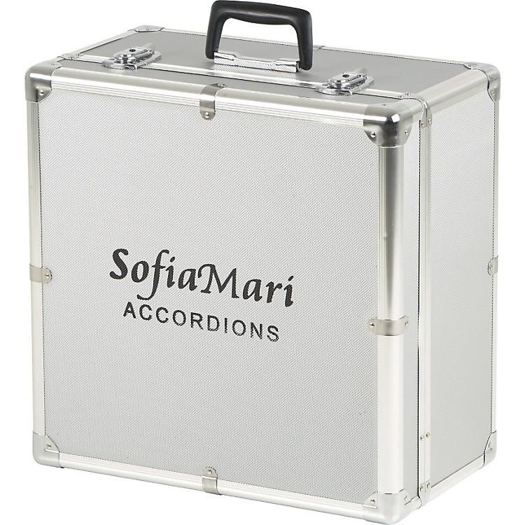 SofiaMariDAC-3112 Deluxe Metal Accordion Case