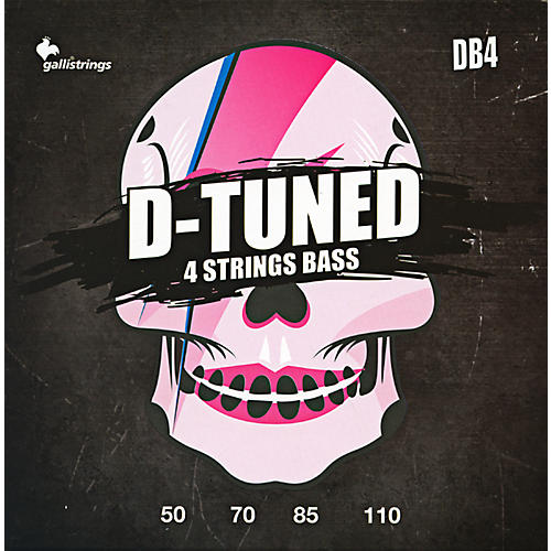 Galli Strings DB4 D-TUNED Bass Strings 50-110