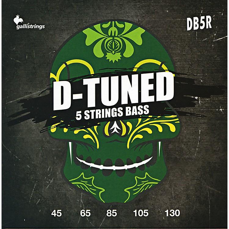 Galli StringsDB5R D-TUNED 5-String Bass Strings 45-130