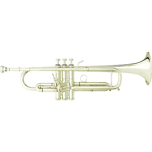 B&S DBX Large Bore X-Series Bb Trumpet with Interchangeable Bell Silver Interchangeable Bell-thumbnail