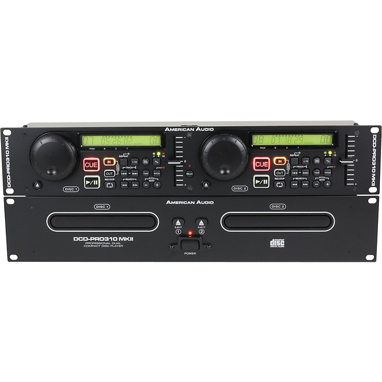 American Audio DCD-Pro 310 MKII Dual CD Player