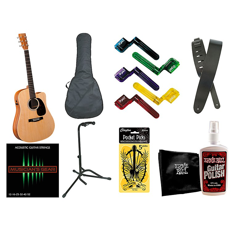 MartinDCPA5K Performing Artist Series Acoustic-Electric Guitar Bundle