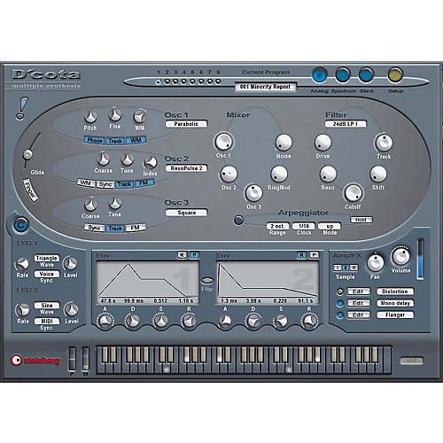 Steinberg D'Cota Soft Synthesizer