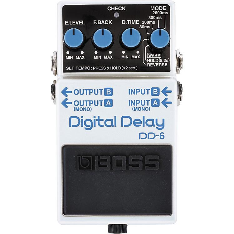 BossDD-6 Digital Delay Guitar Effects Pedal