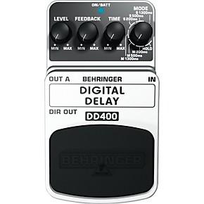 behringer dd400 digital delay guitar effects pedal musician 39 s friend. Black Bedroom Furniture Sets. Home Design Ideas