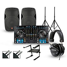 Pioneer DDJ-RX with Harbinger V1015 DJ Package