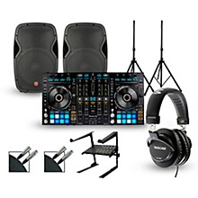 Pioneer DDJ-RZ with Harbinger V1015 DJ Package
