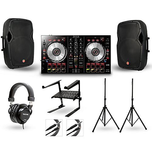 Pioneer DDJ-SB2 with Harbinger V1015 DJ Package-thumbnail