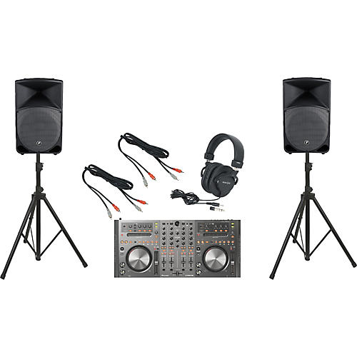 Pioneer DDJ-T1 / Mackie Thump TH-15A DJ Package
