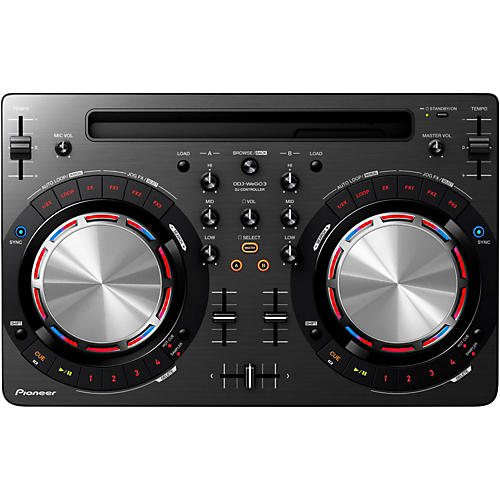 Pioneer DDJ-WEGO3 Compact DJ Controller with iOS Compatibility-thumbnail