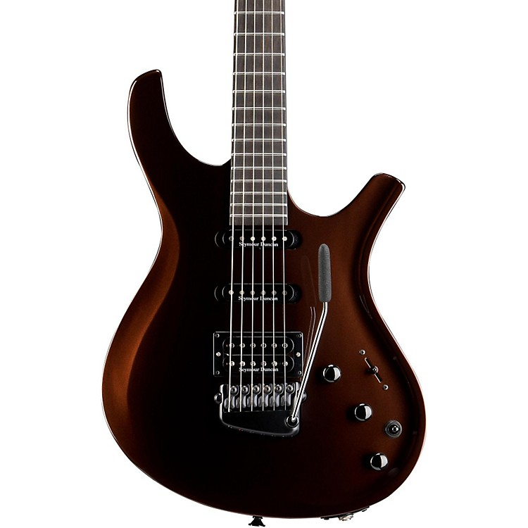 Parker Guitars DF624 DragonFly Bolt-On Electric Guitar with Gloss Finish Root Beer