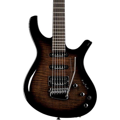 Parker Guitars DF724 Maxx Fly Flame Top w/ Seymour Duncans and Fishman Piezo Electric Guitar