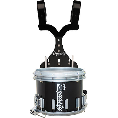Dynasty DFX14 Modular Snare Drum with Black T-Max Carrier-thumbnail