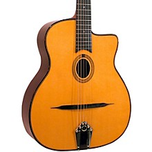 Gitane DG-250 Petite Bouche Gypsy Jazz Acoustic Guitar Natural