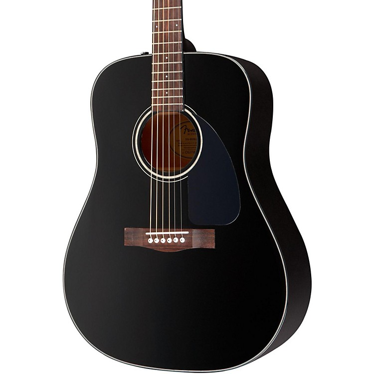 Fender DG-60 Acoustic Guitar Black