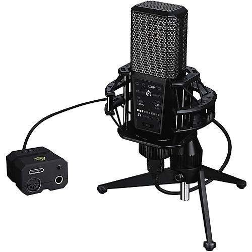 Lewitt Audio Microphones DGT 650 Stereo USB Microphone for iOS, PC, Mac-thumbnail