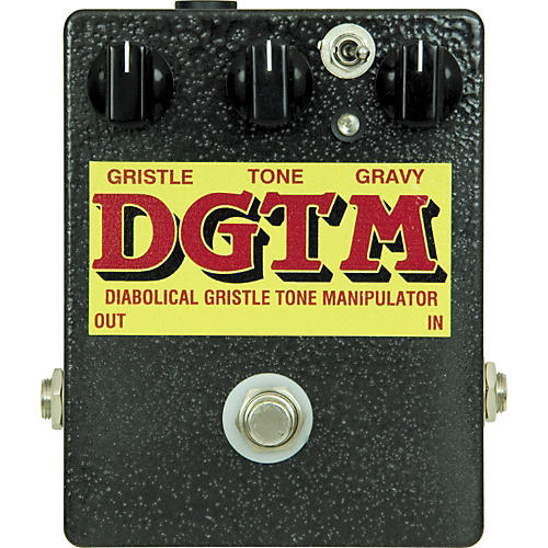T-Rex Engineering DGTM Diabolical Gristle Tone Manipulator Guitar Effects Pedal-thumbnail