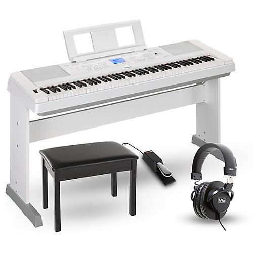 Yamaha DGX660 88-Key Portable Grand Piano Packages-thumbnail