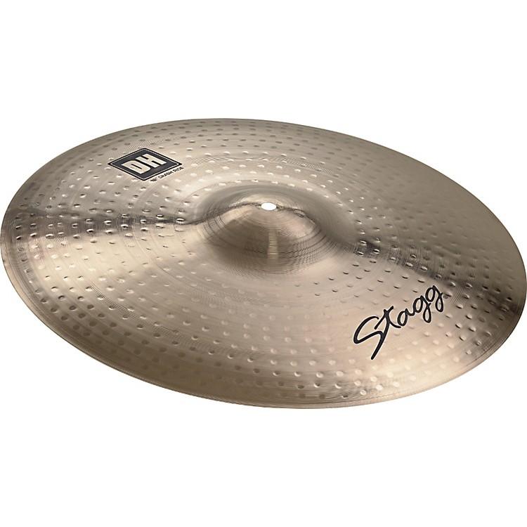 StaggDH Dual-Hammered Brilliant Crash Ride Cymbal20