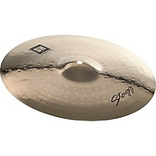 Stagg DH Dual-Hammered Brilliant Medium Crash Cymbal 15 in.