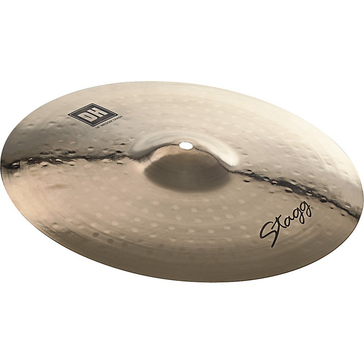 Stagg DH Dual-Hammered Brilliant Medium Crash Cymbal 18