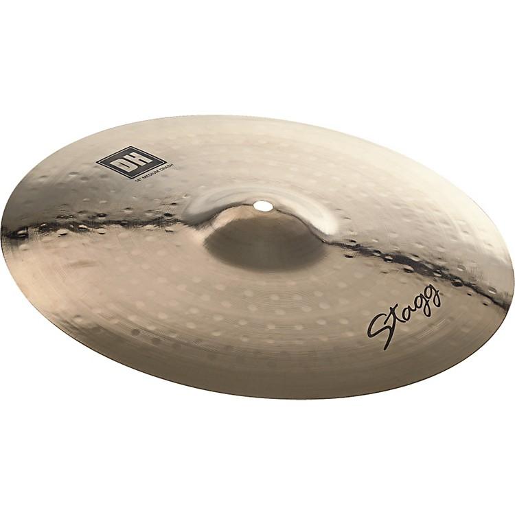 StaggDH Dual-Hammered Brilliant Medium Crash Cymbal17
