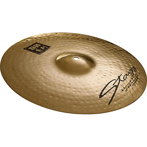 Stagg DH Dual-Hammered Brilliant Medium Ride Cymbal
