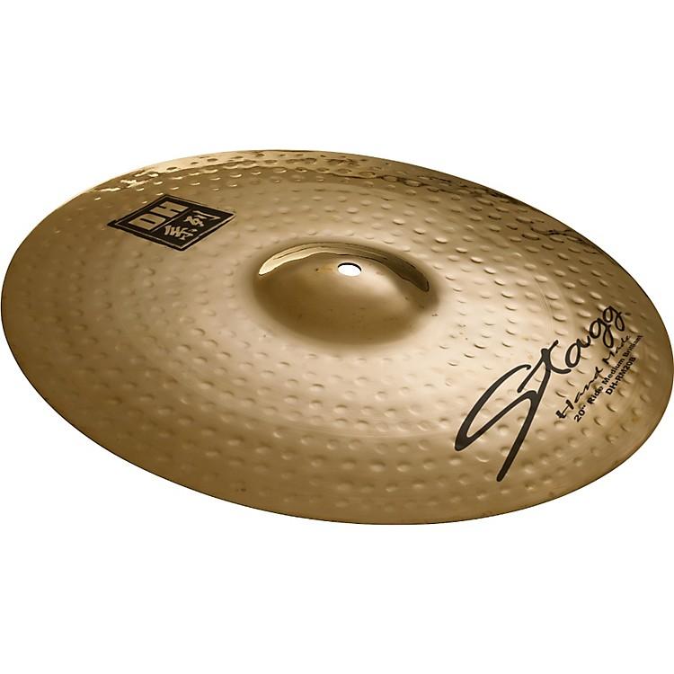 StaggDH Dual-Hammered Brilliant Medium Ride Cymbal22
