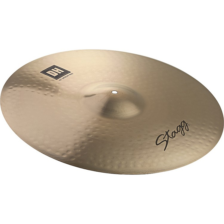 Stagg DH Dual-Hammered Brilliant Rock Ride Cymbal 21