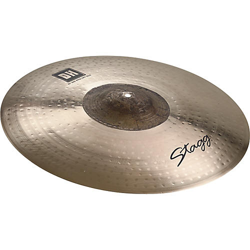 Stagg DH Dual-Hammered Exo Extra Dry Ride Cymbal-thumbnail