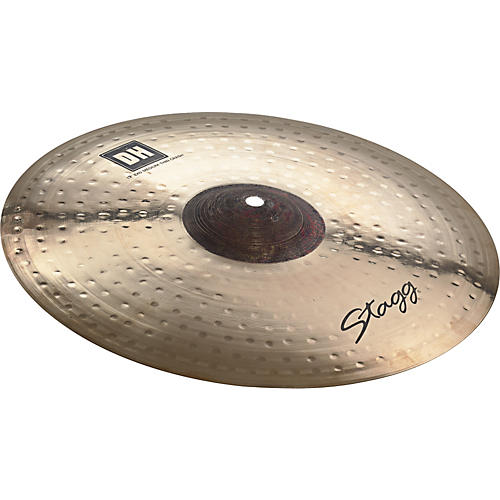 Stagg DH Dual-Hammered Exo Medium Thin Crash Cymbal 13 in.