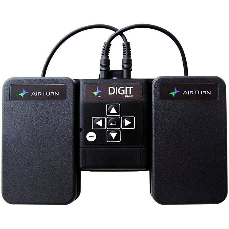 AirTurn DIGIT Wireless Controller with 2 ATFS-2 Pedals and Pedalboard