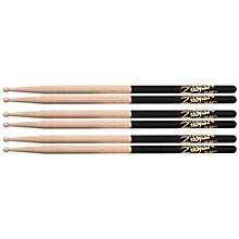 Zildjian DIP Drumsticks (6-Pack) Wood 7A