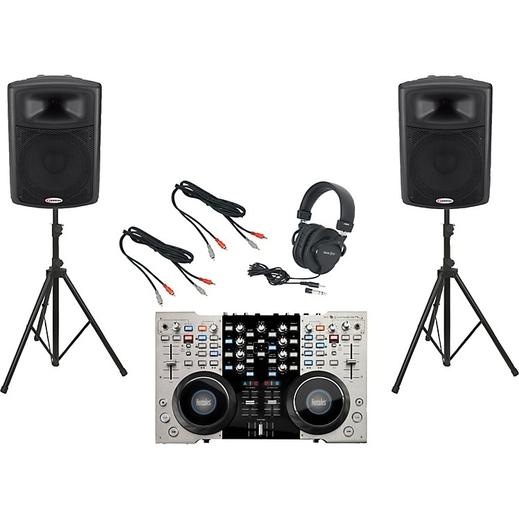 Hercules DJ 4Set / Harbinger APS15 DJ Package