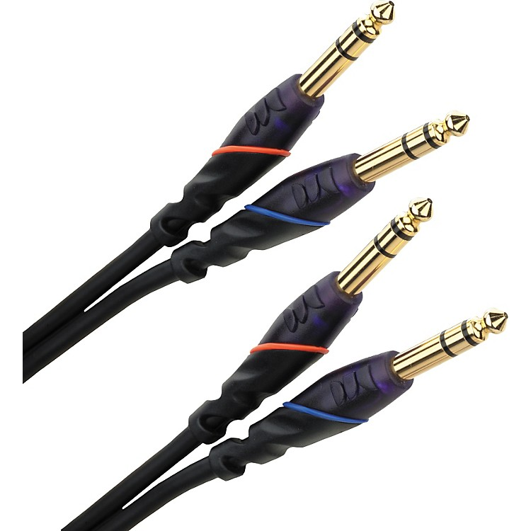 Monster Legacy DJ Cable Dual TRS  2 Meters