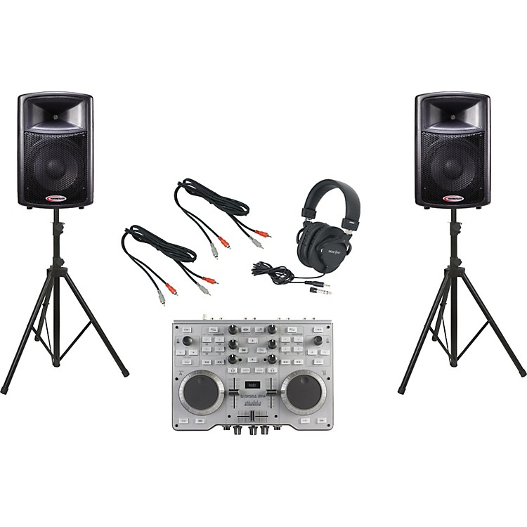 HerculesDJ Console MK4 / Harbinger APS12 DJ Package