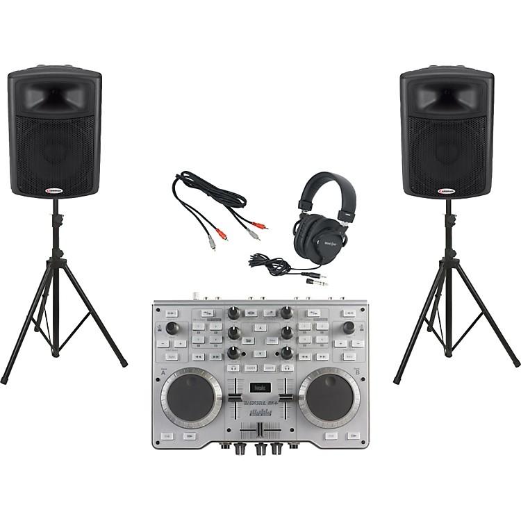 HerculesDJ Console MK4 / Harbinger APS15 DJ Package