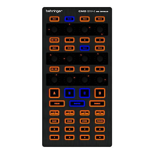 Behringer DJ Controller CMD DV-1-thumbnail