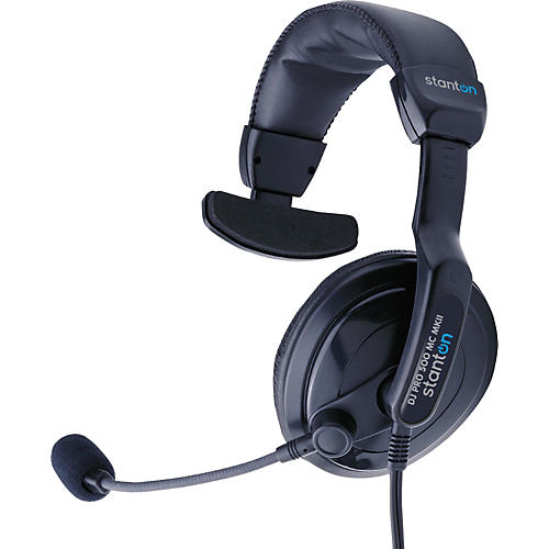 Stanton DJ Pro 500 MC Mk II Single-Cup Headphone with Mic-thumbnail