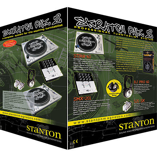 Stanton DJ Scratch Pak II