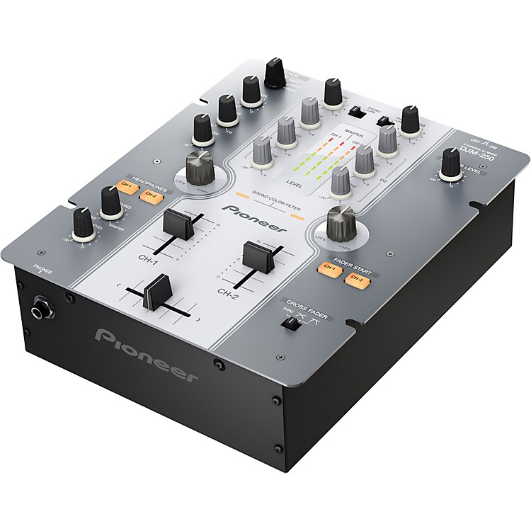 PioneerDJM-250 Compact DJ Mixer