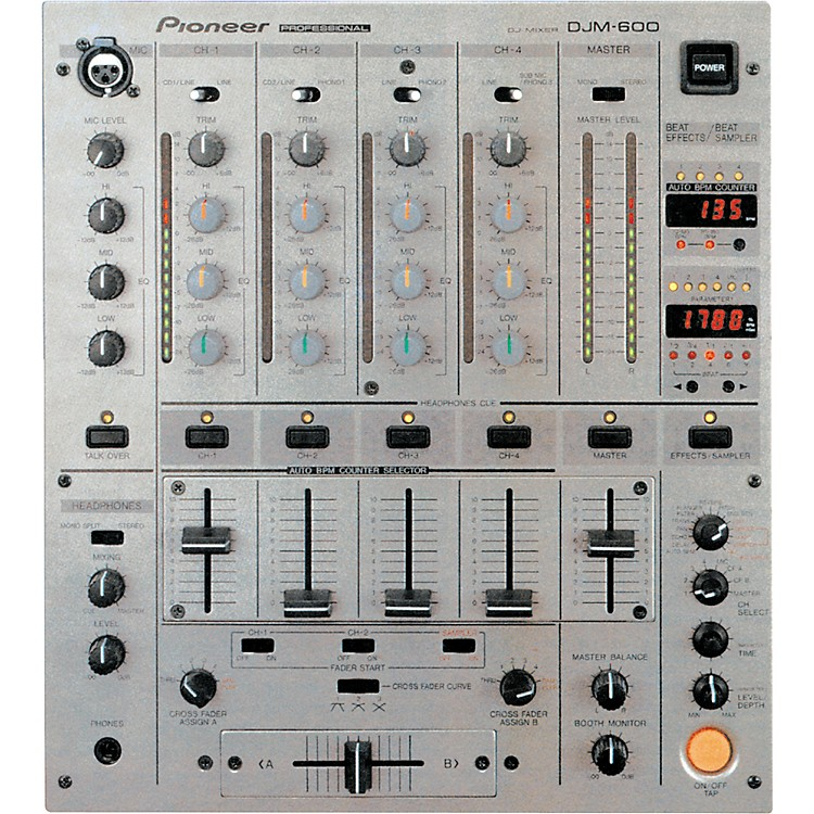 PioneerDJM-600 Pro DJ Mixer