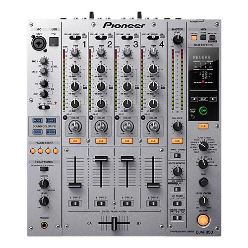 Pioneer DJM-850 4-Channel Professional DJ Mixer
