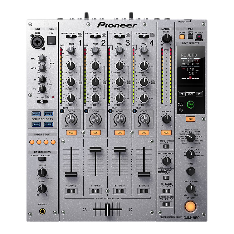 Pioneer DJM-850 4-Channel Professional DJ Mixer