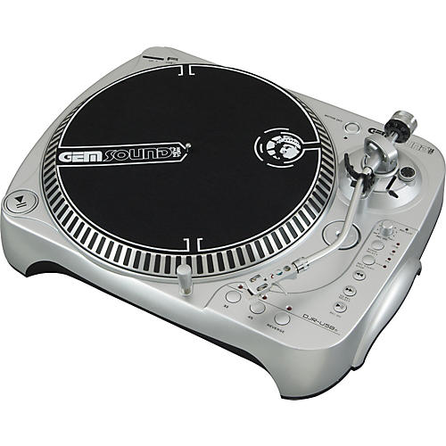 Gem Sound DJR-USB-s SD & USB Turntable