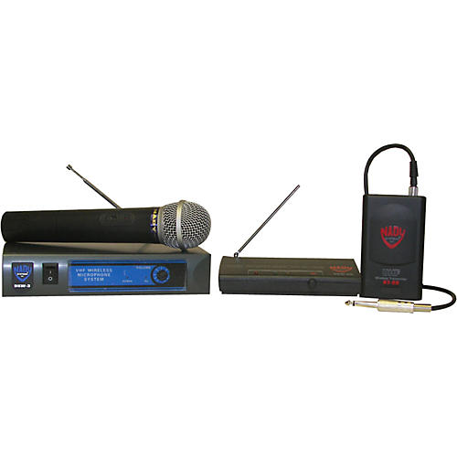 Nady DKW-8 GT/DKW-8 HT Guitar and Microphone Wireless Package-thumbnail