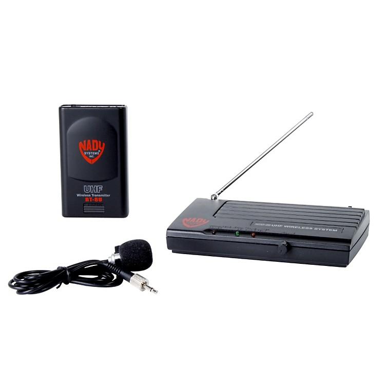 NadyDKW-8U Uni-Directional Lavalier Wireless SystemU8-20Black