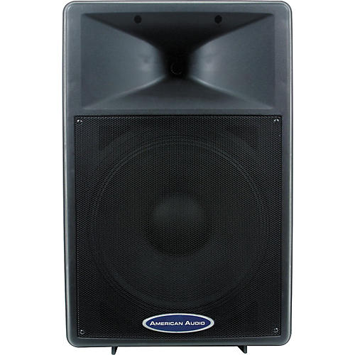 american audio dls 15p 15 2 way powered speaker musician 39 s friend. Black Bedroom Furniture Sets. Home Design Ideas