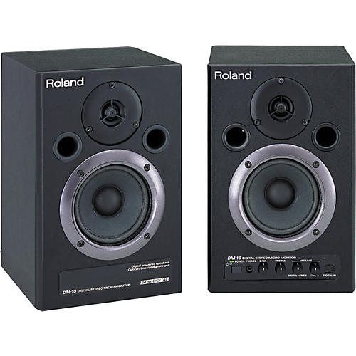 Roland DM-10 Digital Stereo Micro Monitor Pair-thumbnail